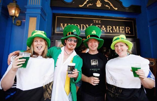 St Patrick's Day celebrations (16 photos)