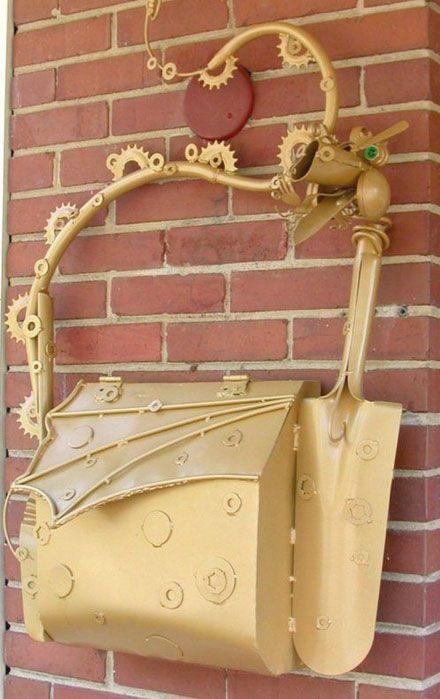 Cool mailboxes (31 photos)