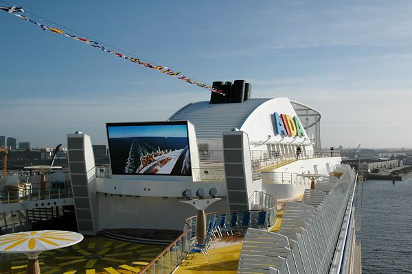 New cruise ship Aida Luna (15 photos)