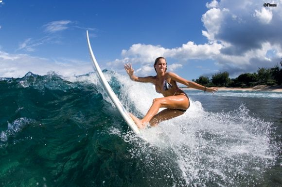 One of the most beautiful surfers in the world - Alana Blanchard (12 photos)