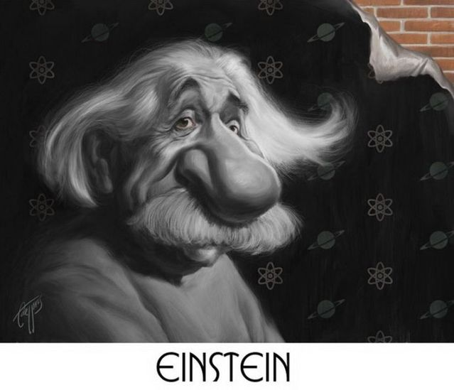 Caricatures of famous people (30 photos)