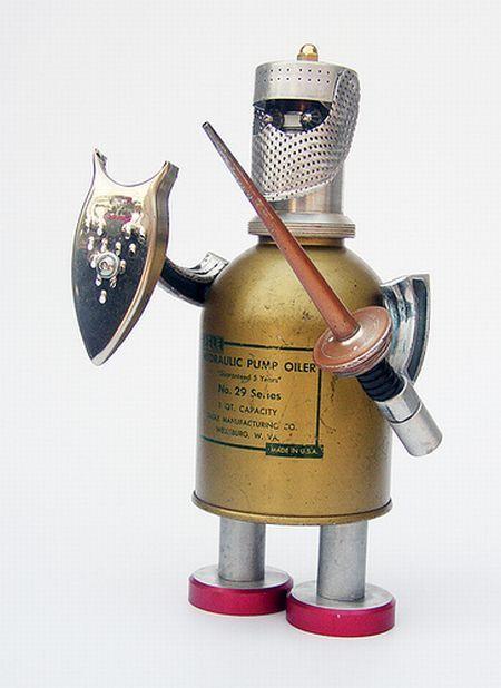 Splendid Homemade Robots 14 Photos Izismile Com