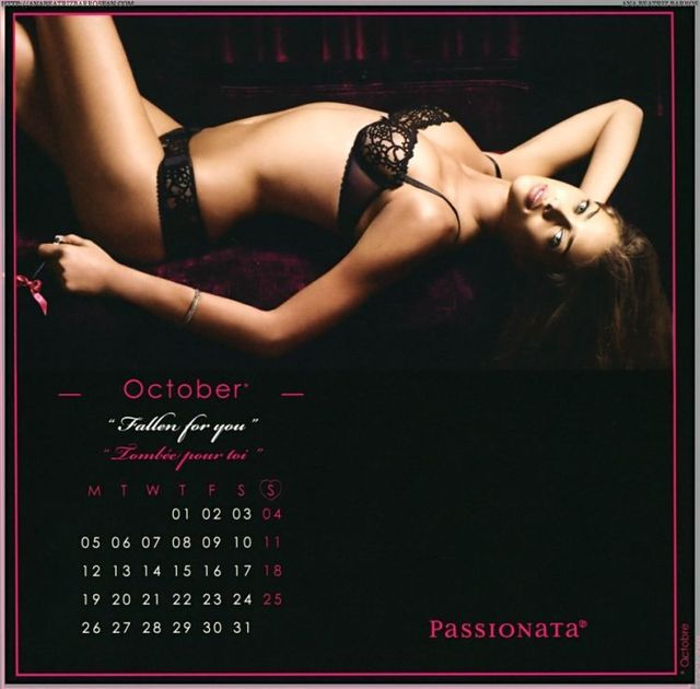 2009 Calendar with Ana Beatriz Barros (12 photos)
