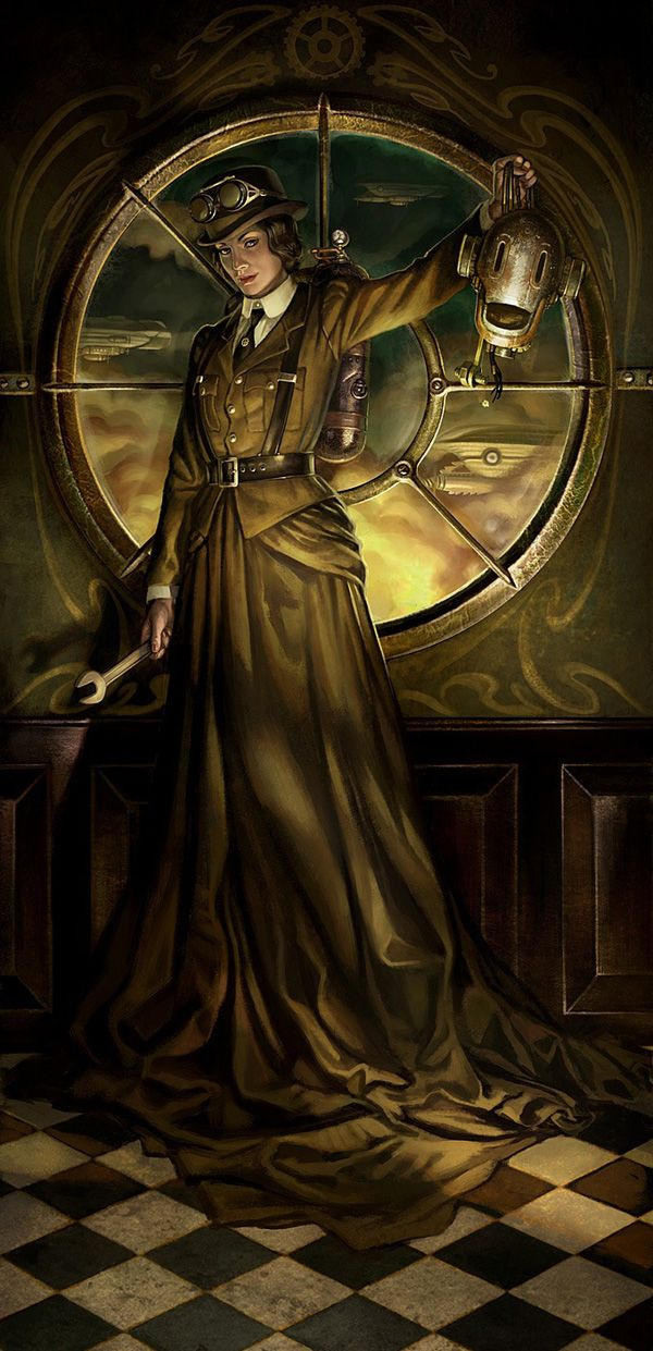 The other side of perception - Steampunk (20 photos)