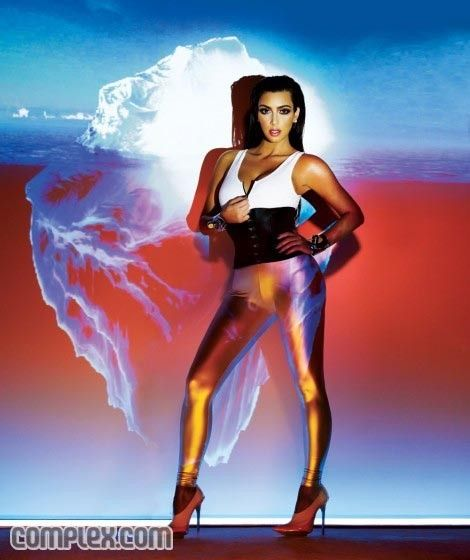 Kim Kardashian extremely bootilicious for Complex (11 photos)