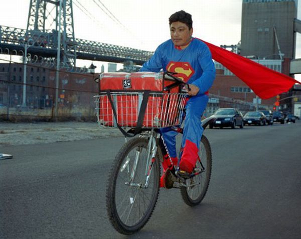 Superheroes in real life (15 photos)