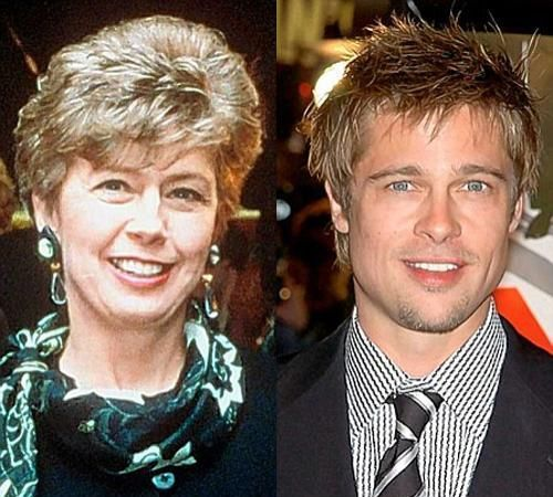 Celebs and their mothers (15 photos)