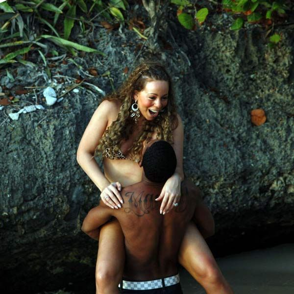 Mariah Carey bikini pictures (7 photos)