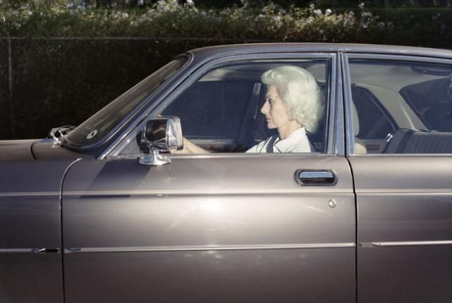 Great series of pictures : Americans behind the wheel (40 photos)