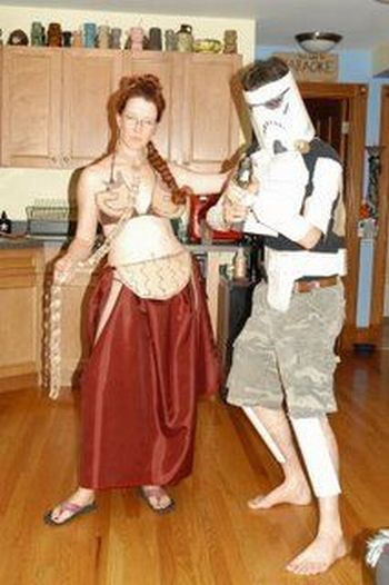 The most stupid Starr Wars costumes (21 photos)