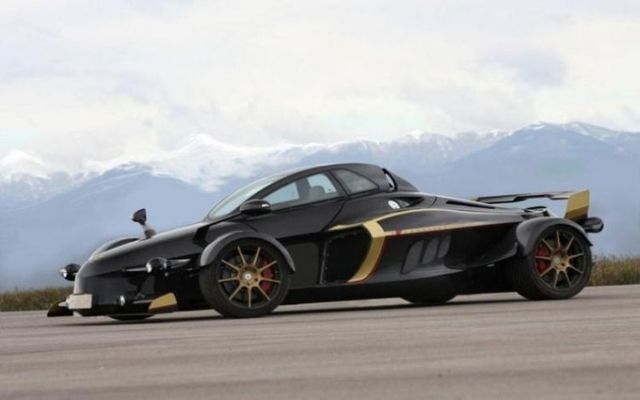 Tramontana, funny car (25 photos)