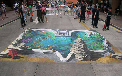 Great 3D paintings (20 photos)