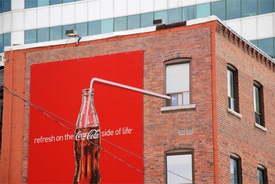 Collection of cool Coca-Cola ads (17 photos)