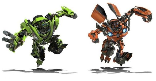 Transformers 2 - CGI Robots (23 photos)
