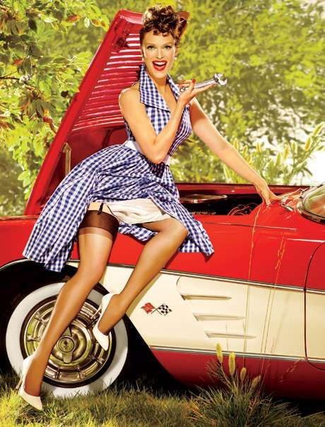 Pin-Up celebrities (50 photos)