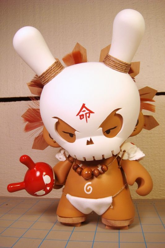 Vinyl toys from Huck Gee (20 photos)