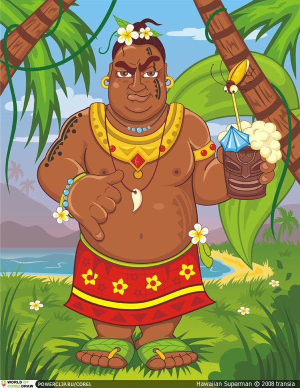 Абориген картинка детская