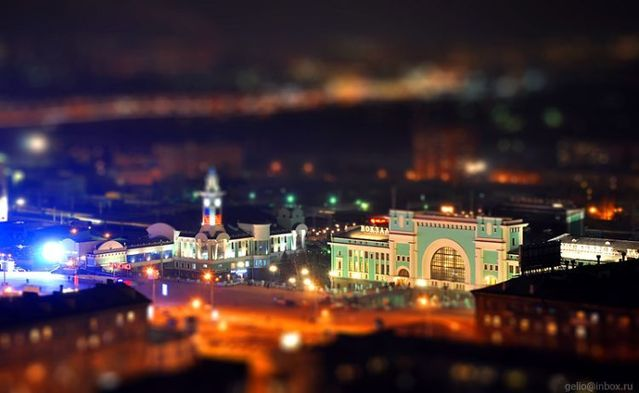 Toy city. Very beautiful! (42 photos)