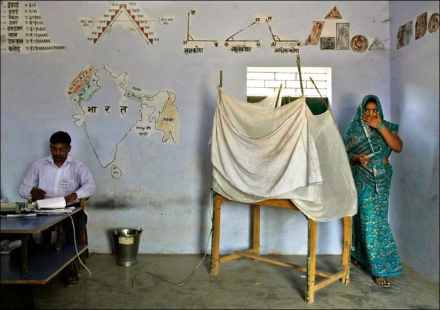 Elections in India (21 photos)
