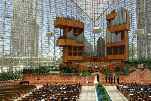 Crystal cathedral (43 photos)