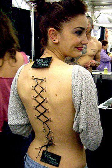 Body modification (25 photos)