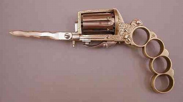 Gun-knuckleduster (5 photos)