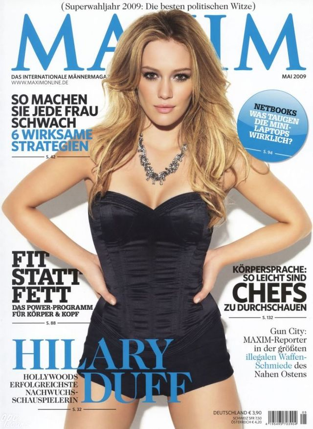 Hilary Duff in Maxim magazine (8 photos)