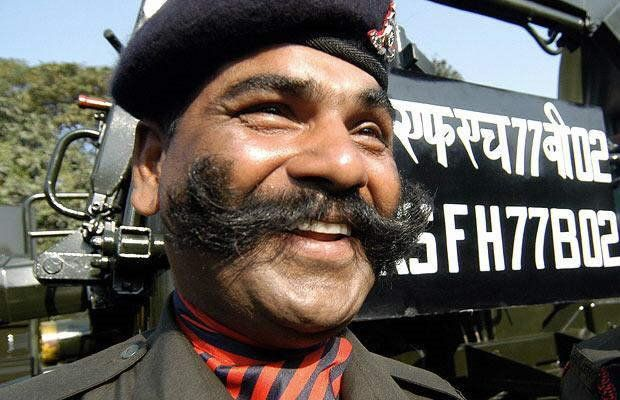 Indians with mustache (10 photos)