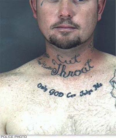 15 insane mugshot tattoos (15 pics)