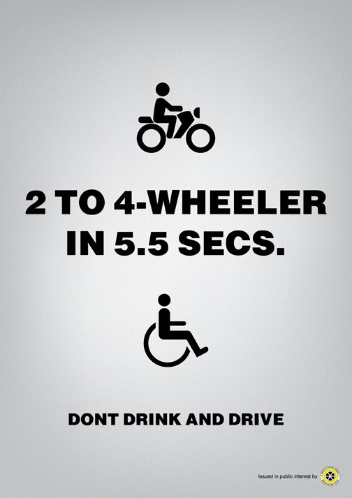 Reklama społeczna: Don't drink and drive (Consequences of alcohol, drugs and other bad habits)