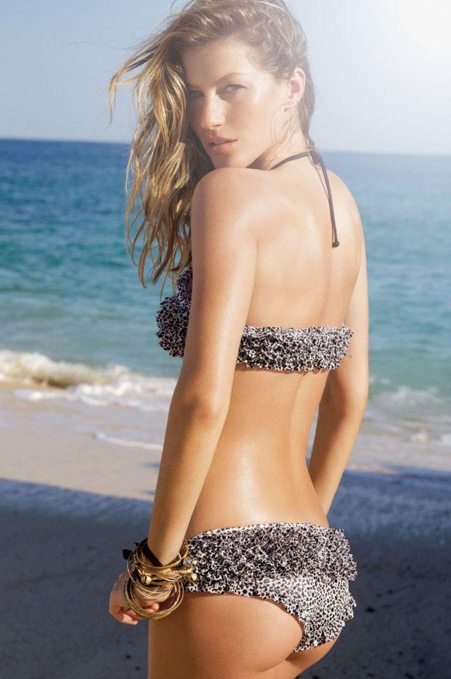 Gisele Bundchen sexy back
