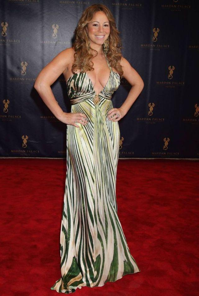 Mariah carey evening dresses
