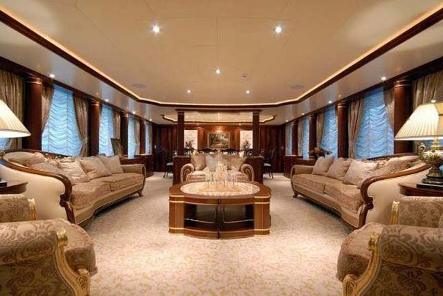 The interiors of luxury yachts (29 pics)