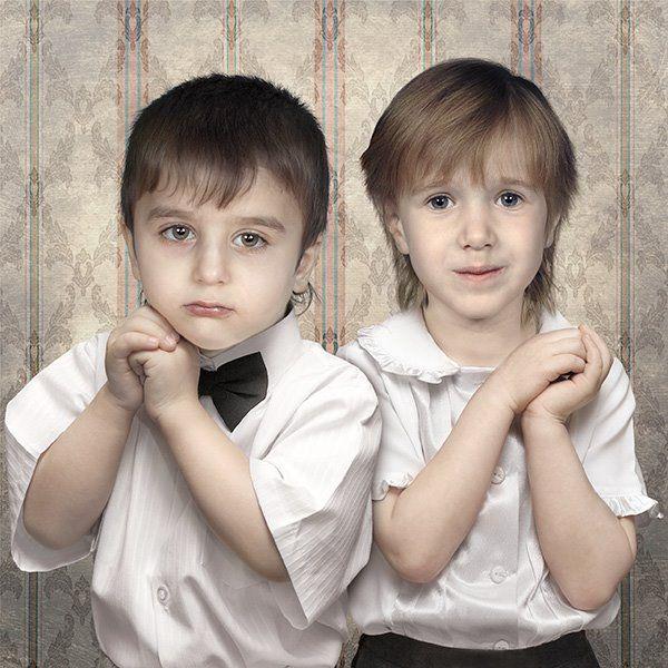 child portraits 52 - Portraits of children