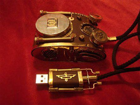 12 cool steampunk gadgets (14 pics)