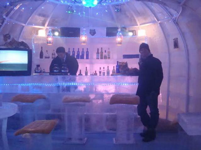 Ice Bars Around The World WireSmash - Ice bar on cruise ship