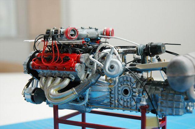 Мотор модели своими руками 344