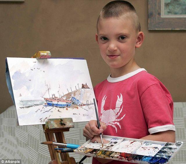 Watercolor paintings (10 pics)