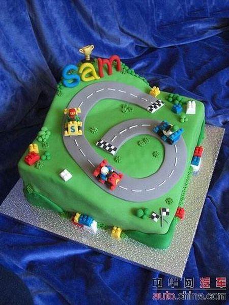Car cakes (22 pics)