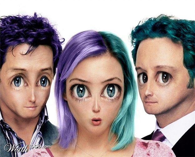 Manga celebrities (40 pics)