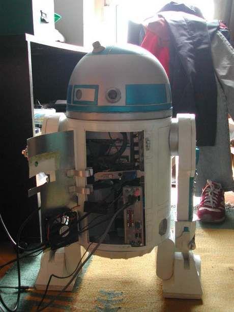 The Star Wars R2d2 Pc Case Mod Likepage