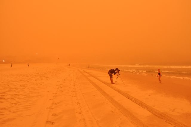 dust storm 04 - Sand storm in Sydney