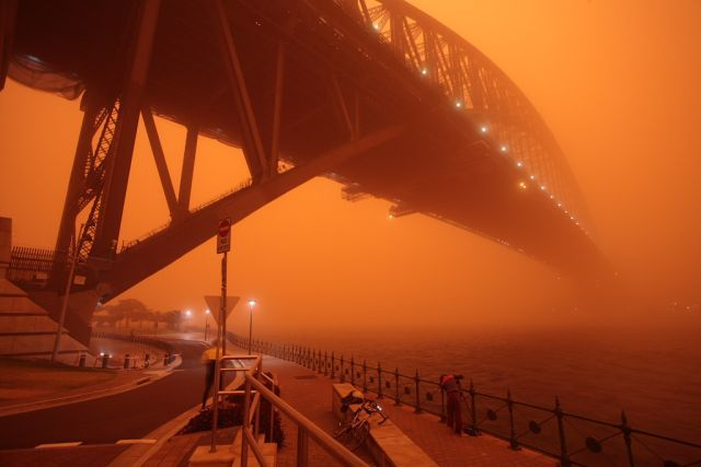 dust storm 05 - Sand storm in Sydney
