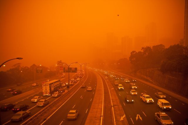 dust storm 12 - Sand storm in Sydney