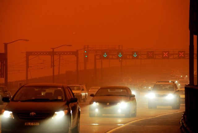 dust storm 21 - Sand storm in Sydney
