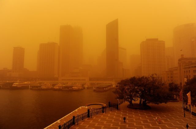 dust storm 24 - Sand storm in Sydney
