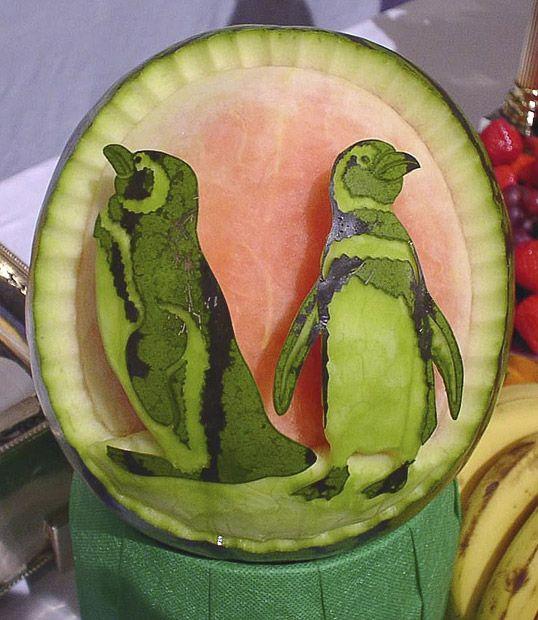 Very beautiful watermelon carvings art wiresmash