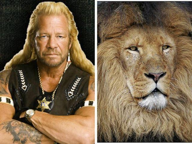 Celebrities And Their Animal Look-Alikes (PHOTOS)