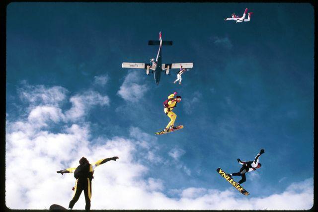 Breathtaking Freefalls (38 pics + 1 video)