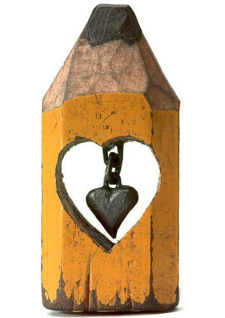 Creative Pencil Sculptures (17 pics)